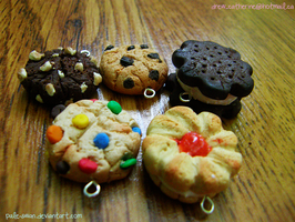Polymer Clay Cookie Charms *for sale by pale-swan