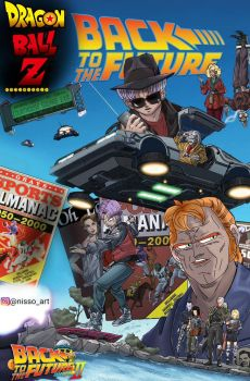 back to the future part 2 dbz style by nissimaharonov