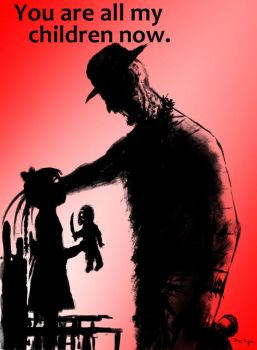 Freddy Krueger You Are all My Children Now by DougSQ