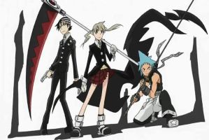 the soul eater gang wallpaper by kouzan-chan