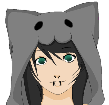 Kitty hood by iAngelDimples