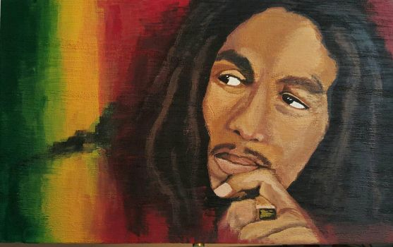 Bob Marley  by aperfectmjk