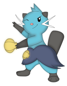 Dewott by NIGHTSandTAILSFAN