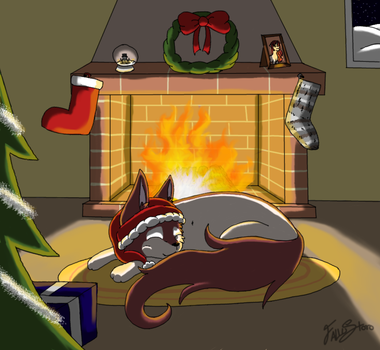 Christmas Night by Fallustoro