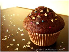chocolate muffin by sljokica