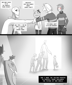 .: The hero that never existed page 6 :. by IronicalGhosty