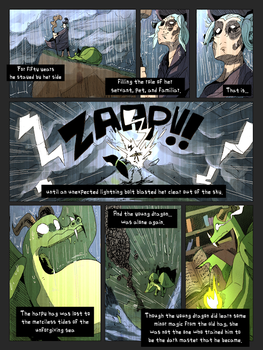 Rise of the Dreaded Dragon Sorcerer-pg.3 by TheUnisonReturns