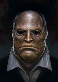 Hollow Man by Guesscui