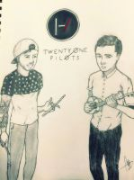 twenty one pilots by Arekusan-Meka