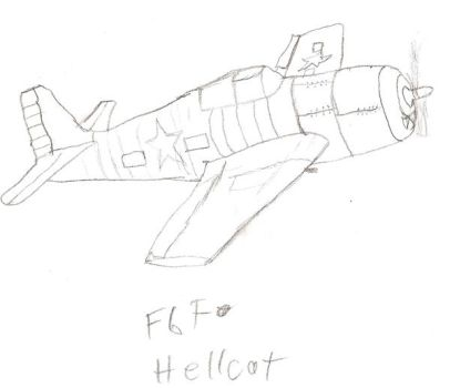 plane thinge 'hellcat' by Just498