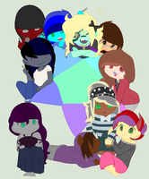 Mlp peoples by Ilikepenguinsforever