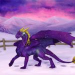 Contest/Event: Purple Beauty (is animated) by Samantha-dragon