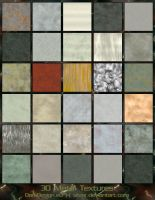 Metal Textures by silver-