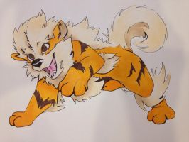 Arcanine by Mj11797