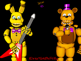[FNaF-Cinema4d] Join Us by AdventureOldFoxy