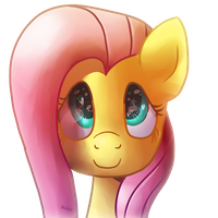 Hello Fluttershy by Zoiby