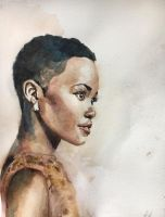 Portrait of a Girl by A1exanderArt