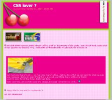 Cherry css journal by mj-coffeeholick