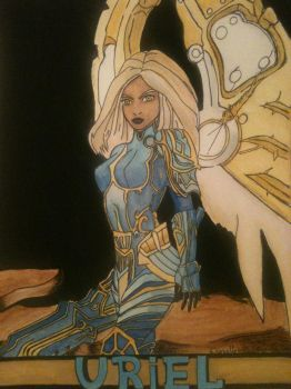 Uriel painted by AngelOfStrenght