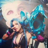 League Of Legends - Jinx by AxelTakahashiVIII