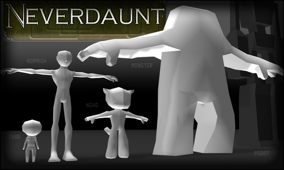 Neverdaunt Avatars by cl0ckw0rked
