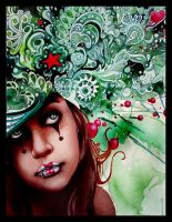 A Green Dream For A Sweet Girl by Lipsies