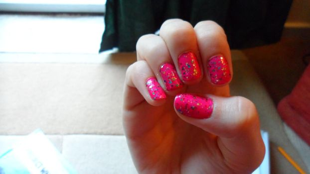 Bubblegum Nails by Cooldawg