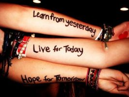 Learn, Live, Hope by Florence333