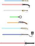 Lightsaber collection II by Robbe25