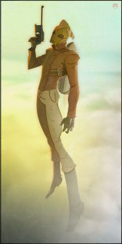 The Rocketeer by CoranKizerStone