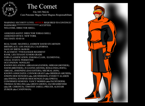FOPA Files - Comet by ShadetheMystic