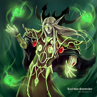 WoW: Prince Kael'thas Sunstrider by InfernalGuard
