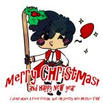 AA: Merry Christmas and a Happy New Year by Blackcaress