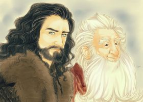 Thorin and Balin by LinART