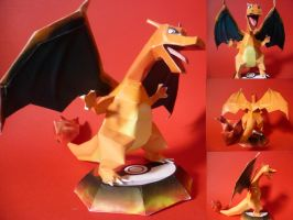 charizard papercraft by epikachu