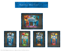 .: Skylanders Wave Four :. by BeachBumDunkin