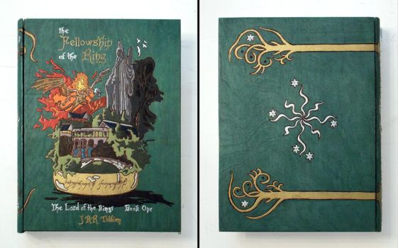 Lord of the Rings: Fellowship of the Ring book box by RFabiano