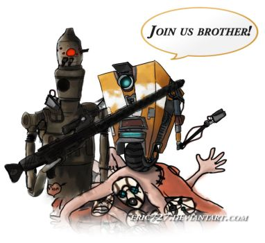 Claptrap Recruits IG88 by Eric727