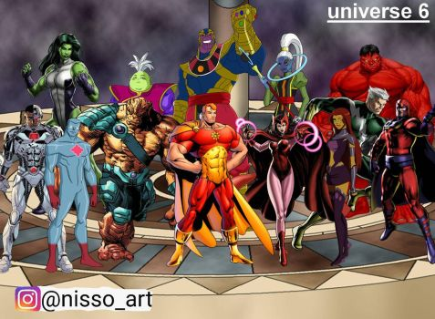 universe 6 all space warriors by nissimaharonov