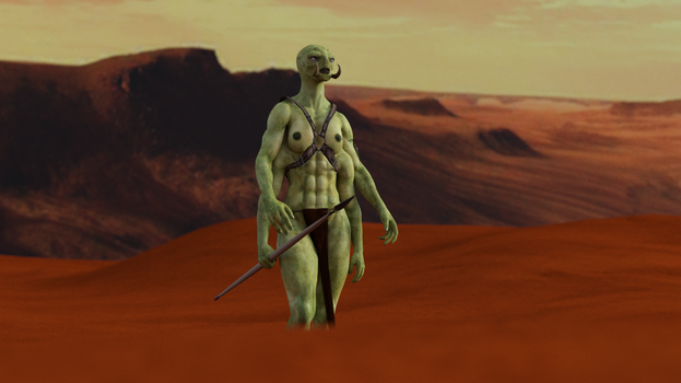 Walking the wastes of Barsoom by exocolumn