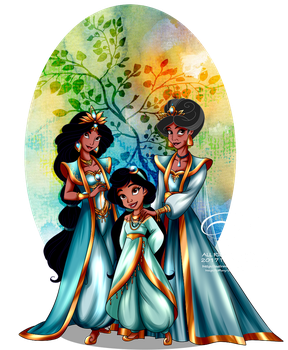 Queens and Princesses by selinmarsou