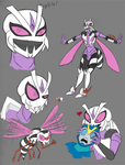 Transformers Wasps: Bug Bite by Transypoo