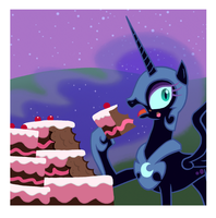 Nightmare Moon, Just Like Us by Sovwi