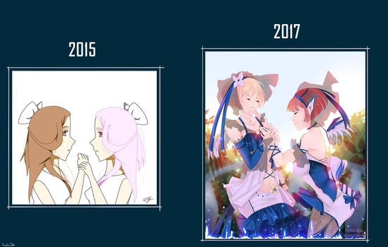My progress for 2 years by OrdeSophie