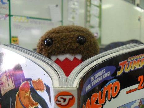 even Domo is a fan of naruto by urgirl4ever
