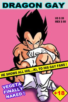 vegeta gay cover by ackingarthur
