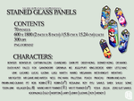 SSB4 Stained Glass Panel Package by Quas-quas