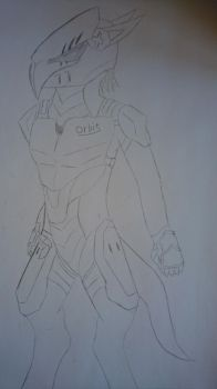 Dragon Orbit Trooper(Uncolored) by elitghost