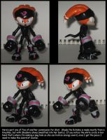 Custom Commission: Shade the Echidna by Wakeangel2001