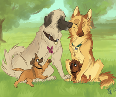 Winchester Family by Aibyou